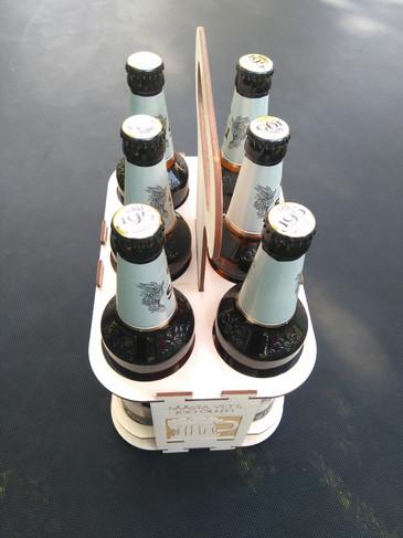 Kuue pudeli hoidja